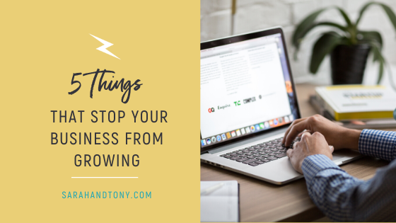 stop your b business from growing