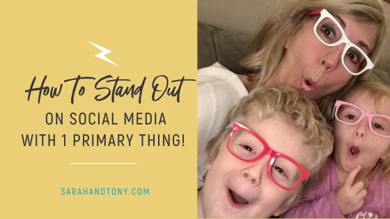 stand out on social media